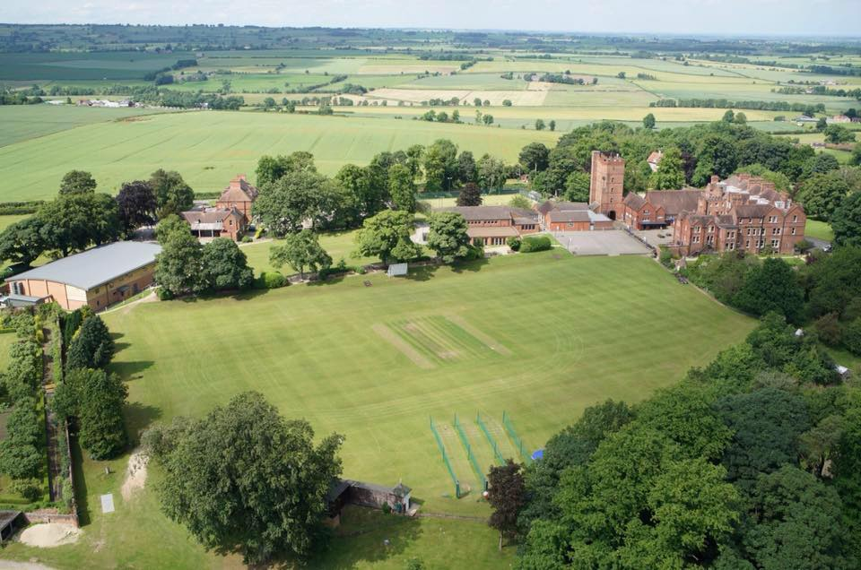 Aysgarth School Aerial