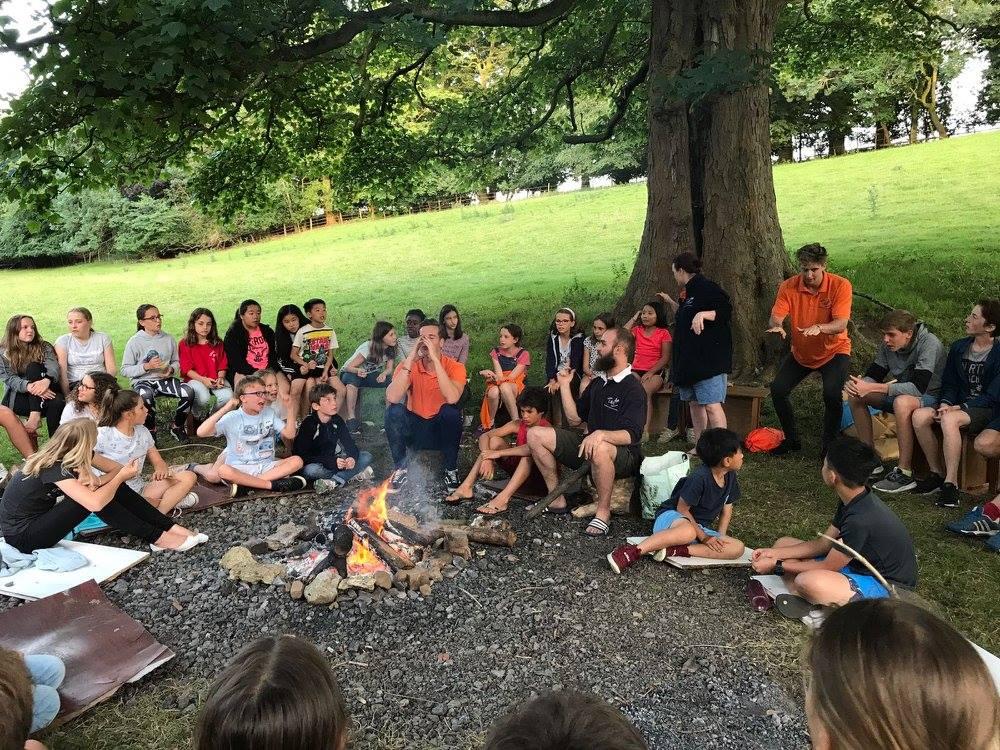 Aysgarth Campfire