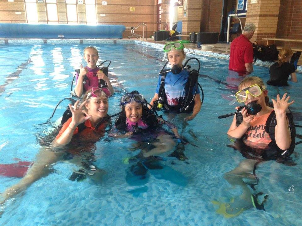 Aysgarth Swimming Pool Scuba