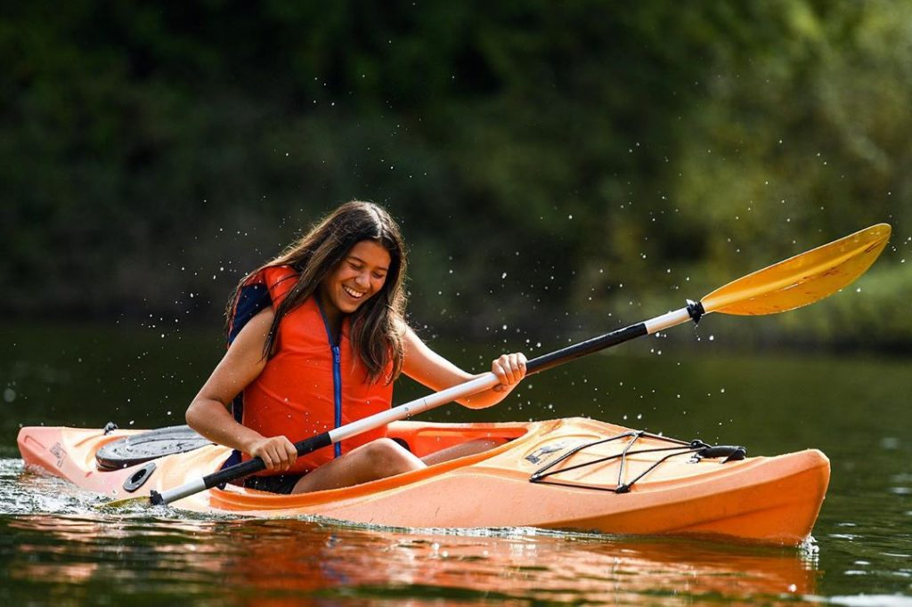 Shawnigan Lake School Camp Kayak