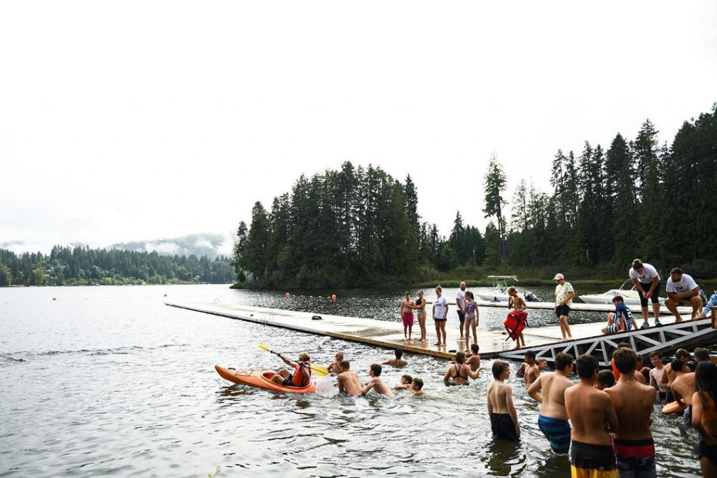 Shawnigan Lake School Camp Lake