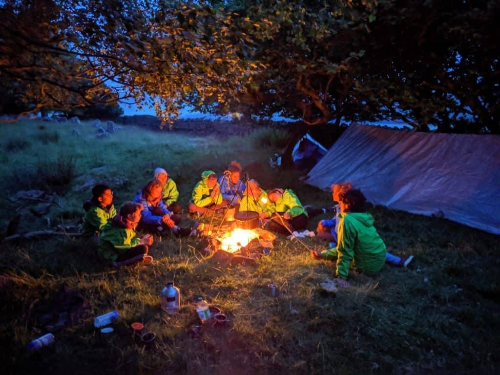 Wilderness Camp Fire