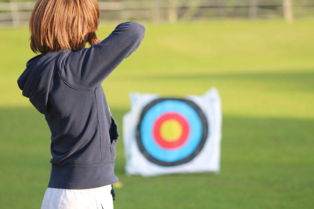 Archery at World Camp